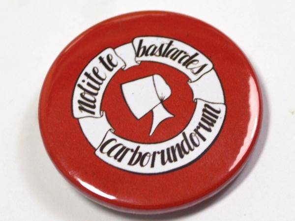 """Feminist Handmaid's Tale """"Nolite te bastardes carborundorum"""" Pinback Badge Butto"""