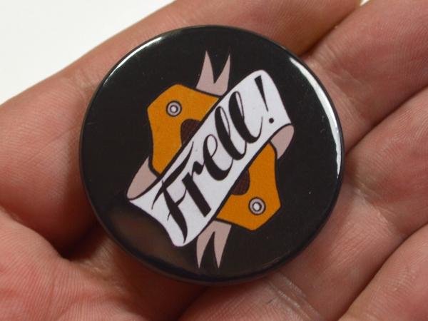 Frell Farscape Scifi Geeky Badge Pinback Button