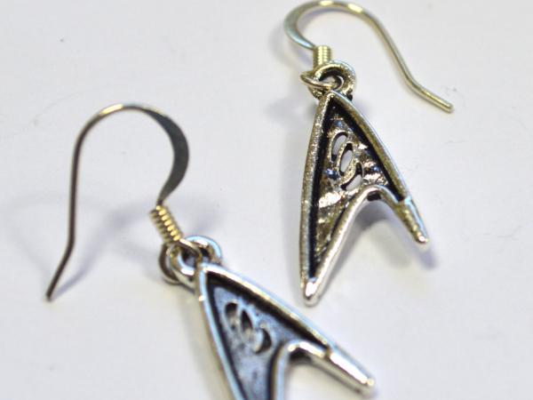 Star Trek TOS Science Officer Logo Earrings