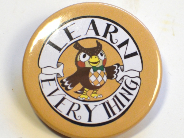 Animal Crossing New Horizons ACNH Blathers Learn Everything Badge