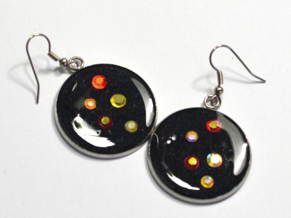 Swarovski Crystal Galaxy Holo Shiny Handmade Earrings