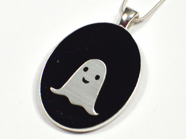 Ghost Cute Kawaii Handmade Pendant