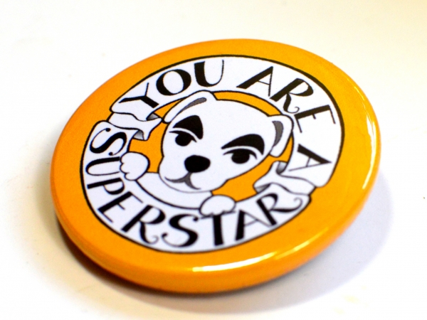 Animal Crossing New Horizons ACNH K.K Slider You Are A Superstar Badge