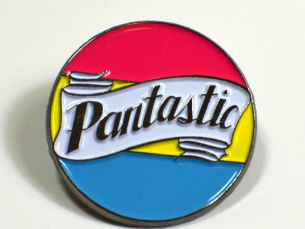 Pantastic Pansexual Pride Enamel Pin LGBTQIA+ Queer Pan Pride