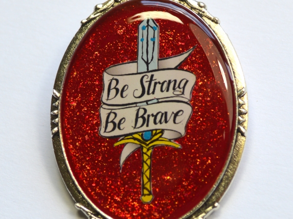 She-Ra Adora Netflix Sword Motivational Brooch
