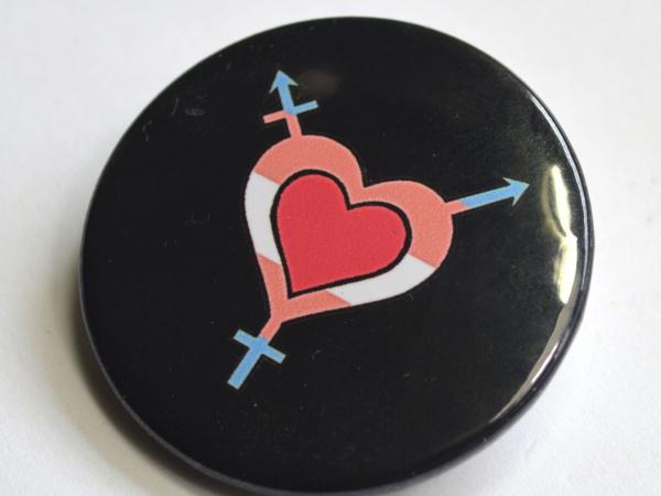 Trans and Gender Diverse Love Badge LGBTQIA