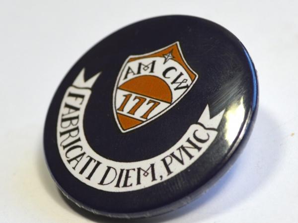 "Discworld Captain Vimes ""Fabricati Diem, Pvnc"" Badge"