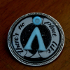 "Stargate SG-1 Atlantis Glow In The Dark ""No Place Like Home"" Brooch"
