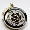 "Supernatural ""Carry On My Wayward Son"" Resin Pendant"