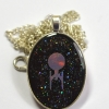 Star Trek USS Enterprise Holographic Necklace