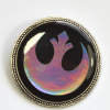 Holographic Star Wars Rebel Alliance Brooch