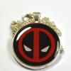 Deadpool Logo Resin Pendant