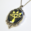 Breath of the Wild Zelda Link Sheikah Symbol Iridescent Pendant
