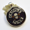 Cripple Punk Skull Disability Spoonie Cane Resin Pendant
