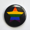 LGBT Gay Star Badge