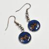 Goldfish Resin Glitter Aquatic Marine Handmade Earrings