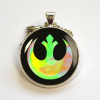 Star Wars Rebel Alliance Holographic Resin Pendant