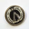 """Stargate SG-1 Atlantis Glow In The Dark """"No Place Like Home"""" Brooch"""