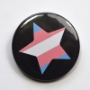 LGBTQIA Galaxy Trans Star Badge