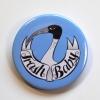 Trash Baby Ibis Funny Meme Light Blue Badge