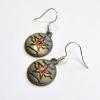 Bucky Barnes Winter Soldier Earrings
