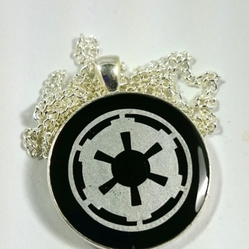 Star Wars Imperial Crest Dark Side Empire Resin Pendant