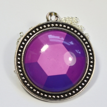 Steven Universe Amethyst Gem Necklace