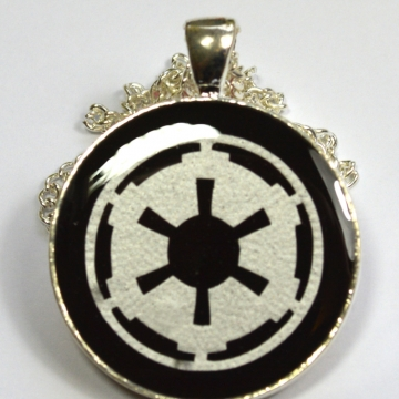 Star Wars Imperial Crest Resin Pendant