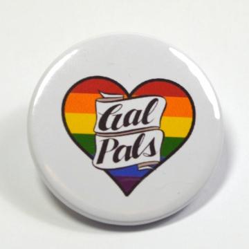 LGBT+ Lesbian Gal Pals Button Badge