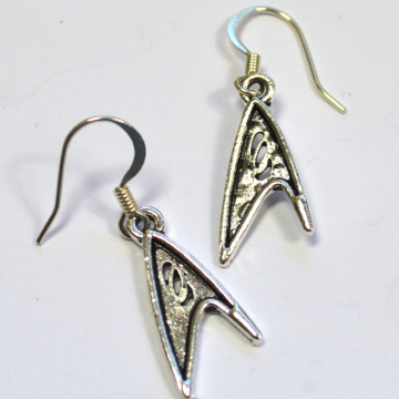 Star Trek TOS Science Officer Logo Earrings