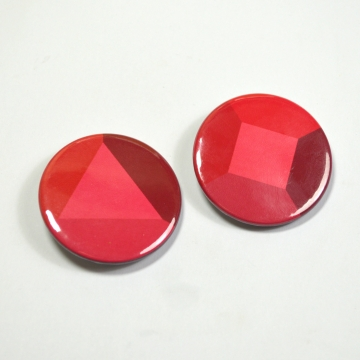 Steven Universe Garnet Gem Badge Set