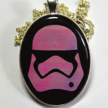 Star Wars Stormtrooper Iridescent Pendant