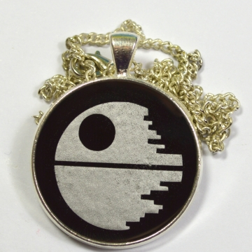 Death Star Star Wars Resin Pendant