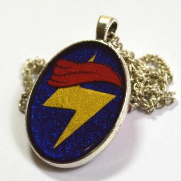 Ms. Marvel Kamala Khan Kamala Corps Minimalist Resin Pendant