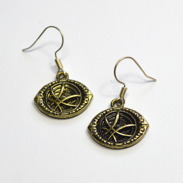 Doctor Strange Talisman Earrings