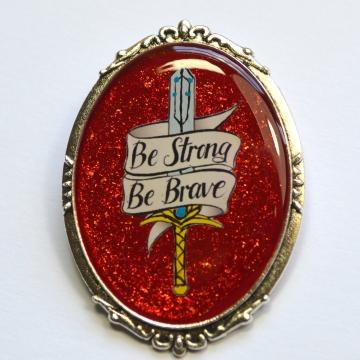 She-Ra Adora Netflix Sword Motivational Brooch
