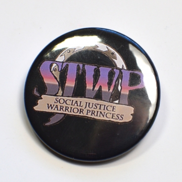 SJWP Social Justice Warrior Princess Xena Feminist Badge