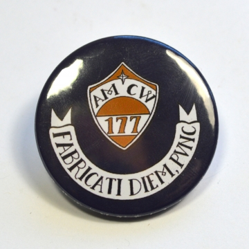 "Discworld Captain Vimes ""Fabricati Diem, Pvnc"" Badge"