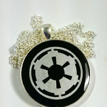 Star Wars Imperial Crest Dark Side Empire Resin Pendant