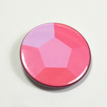 Steven Universe Rose Quartz Steven Gem Pinback Button Badge