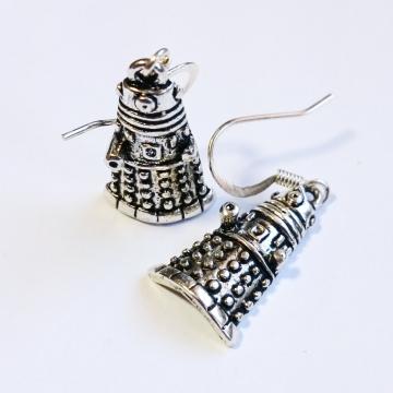 Doctor Who Dr Who Dalek Earrings