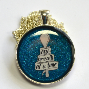 One Breath Spoonie Chronic Illness Necklace