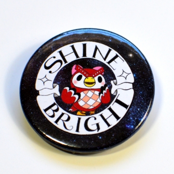 ACNH Celeste Shine Bright Starry Night Badge