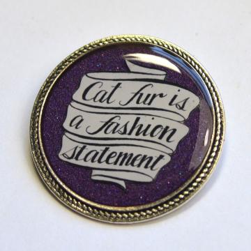 Cat Fur Is A Fashion Statement