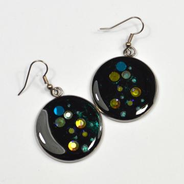 Diamante Rainbow Earrings