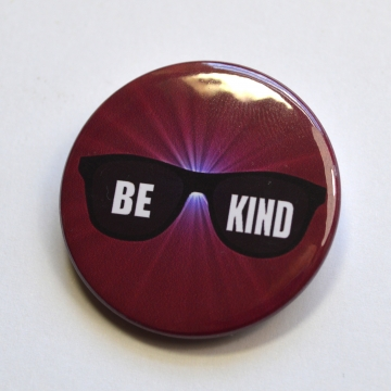 "Doctor Who ""Be Kind"" Badge"