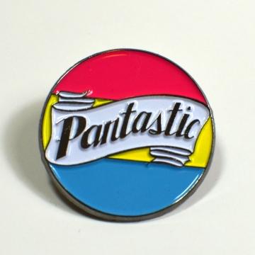 Pantastic Pansexual Pride Enamel Pin