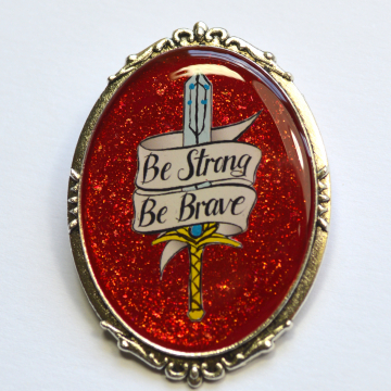 She-Ra Adora Be Strong, Be Brave Brooch
