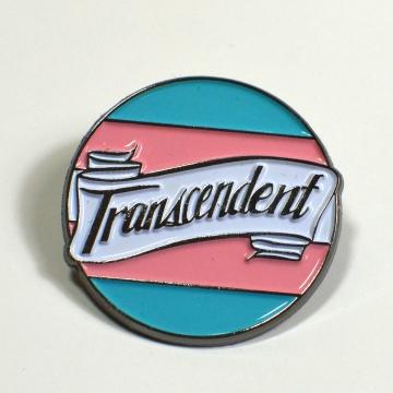 Transcendent Transgender Pride Enamel Pin